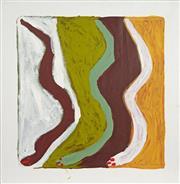 Sale 8718 - Lot 507 - Peggy Napangardi Jones (1951 - 2014) - Snake, 2002 acrylic on linen