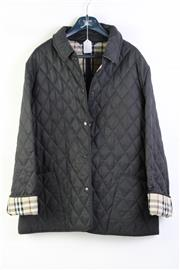 Sale 8904H - Lot 82 - A Burberry quilted black jacket, size L