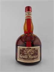 Sale 8498 - Lot 1995 - 1x Grand Marnier Liqueur, France - old bottling, some losses