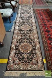 Sale 8507 - Lot 1089 - Turkish Hall Runner (400 x 80cm)