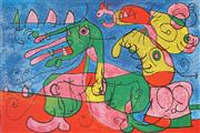 Sale 8901A - Lot 5063 - Joan Miro (1893 - 1983) - Untitled 32.5 x 51.5 cm