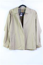 Sale 8904H - Lot 98 - A Burberry beige zip up jacket, size L