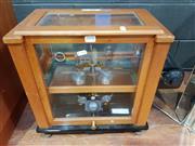 Sale 8908 - Lot 1058 - Pair of Cased Scientific Scales