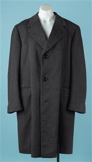 Sale 9080F - Lot 37 - A GENTS RODEX OF LONDON Long Cashmere Coat size XL