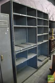 Sale 8390 - Lot 1318 - Large Industrial Shelving