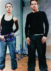 Sale 8834A - Lot 5095 - Jessica Alba & Michael Weatherly