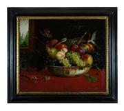 Sale 8660A - Lot 57 - Early Dutch school - Fine Still Life with Burds 50 x 60cm