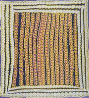 Sale 8718 - Lot 529 - Eunice Napanangka Jack (1940 - ) - Bush Potatoes, 2001 acrylic on linen