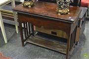 Sale 8347 - Lot 1076 - Lift Top Games Table