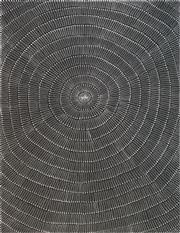 Sale 8420 - Lot 550 - Mary Rumble Pitjara (c1957 - ) - Kangaroo Dreaming 200 x 150cm