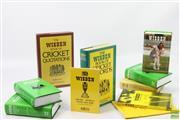 Sale 8621 - Lot 101 - 10 Wisdens including Australian Almanacks for 1998, 1999, 2001, 2005 (10)