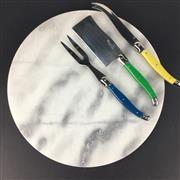 Sale 8657X - Lot 135 - White Marble Cheese Board, 30cm diameter