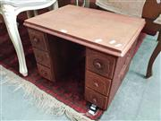 Sale 8672 - Lot 1099 - Sewing Drawers Converted to Occasional Table