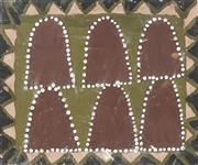 Sale 8718 - Lot 519 - Queenie Nakarra McKenzie (1915 - 1998) - Bungle Bungle, 1998 natural pigments on canvas panel