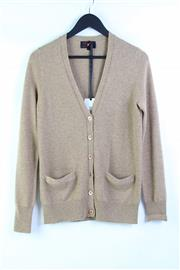 Sale 8904H - Lot 83 - A Tiferno Moda Mocha Cashmere cardigan, size S