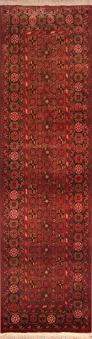 Sale 8307A - Lot 34 - Old Afghan Qunduzi 300cm x 80cm  RRP $800