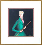 Sale 8379A - Lot 81 - Kilmeny Niland (c.1978 - 1984) - The Riding Master 27 x 25cm
