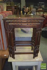 Sale 8390 - Lot 1241 - Nest of Occasional Tables