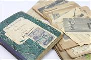 Sale 8618 - Lot 9 - Two Cricket Scrapbooks - Australia v England, 1930 and 1934