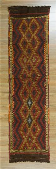 Sale 8625C - Lot 21 - Persian Somak 270cm x 66cm