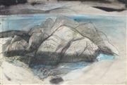 Sale 8773 - Lot 565 - Babara Rae (1943 - ) - Goat Island, 1984 59 x 86.5cm