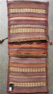Sale 8868 - Lot 1600 - Persian Saddle Bag (105 x 48cm)