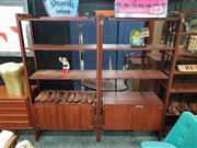 Sale 8930 - Lot 1012 - Warren Catt Shelving Unit (Each - H: 184 W: 96.5 D: 47cm)