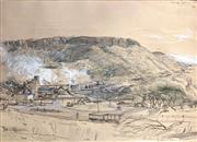Sale 9045 - Lot 2026 - Kenneth Jack, Coalcliff Coalmine, 1969, pencil and bodycolour, 25 x 35cmframe size: 57 x 72cm, signed lower right, titled upper ri...