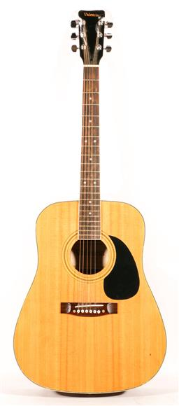 Sale 9136 - Lot 42 - Valencia acoustic guitar in carry case (TJ115)