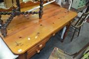 Sale 8431 - Lot 1054 - Pine Clerks Desk