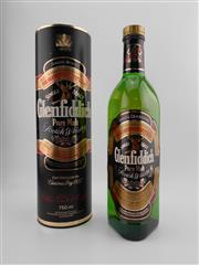 Sale 8498 - Lot 1736 - 1x Glenfiddich Special Reserve Single Malt Scotch Whisky - old bottling in canister