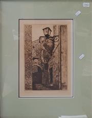 Sale 8636 - Lot 2082 - Felicity Sin - Italian Scene (Roving)