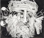 Sale 9013 - Lot 508 - Arthur Boyd (1920 - 1990) - Lysistrata Series #20, Chorus 35 x 40 cm (frame: 72 x 77 x 3 cm)