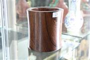 Sale 8308 - Lot 23 - Huanghuali Brushpot