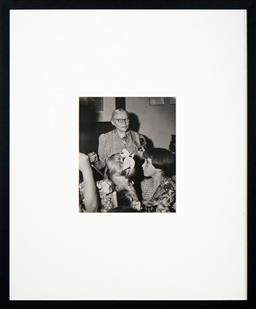 Sale 8666A - Lot 5039 - Max Dupain (1911 - 1992) - Woman and Children 24 x 20cm