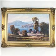 Sale 8545N - Lot 175 - Leon Hansen, oil on board (75cm x 50cm)