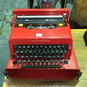 Sale 8643 - Lot 1065 - Vintage Olivetti Valentine Cased Typewriter