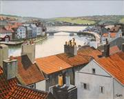 Sale 8675 - Lot 593 - Lesbia Thorpe (1919 - 2009) - Whitby, Yorkshire 39 x 49.5cm