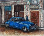 Sale 8901A - Lot 5066 - Stanley Perl (1942 - ) - Cuban Car V 76.5 x 91.5 cm