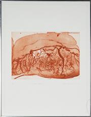 Sale 8896A - Lot 5076 - Frank Hodgkinson (1919 - 2001) - The Arnhem Experience IV 1980 35 x 50 cm