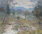Sale 8980A - Lot 5018 - Reginald Rowe (1916 - 2010) - Near Bright 59.5 x 75 cm (frame 81 x 96 x 6 cm)