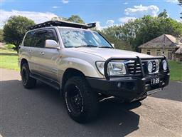 Sale 9100V - Lot 1 - 1998 Toyota VX Limited 4x4 Wagon