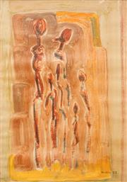 Sale 8573 - Lot 2013 - Michael Noble (1919 - 1993) - Family, 1952 69 x 49cm