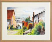 Sale 8297 - Lot 518 - Terence (John) Santry (1910 - 1990) - Walsh Bay 55.5 x 75cm