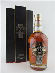 Sale 8411 - Lot 689 - 1x Chivas Brothers 25YO Chivas Regal Blended Scotch Whisky - in presentation box