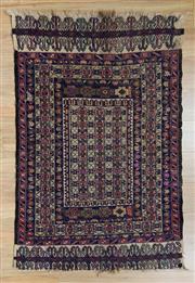 Sale 8576C - Lot 51 - Persian Somak 136cm x 88cm