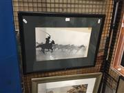 Sale 8767 - Lot 2095 - Artist Unknown - Wild Horses