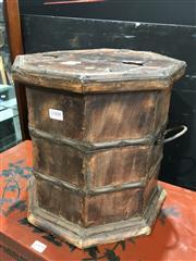 Sale 8787 - Lot 1008 - Indian Hardwood Lift Top Box