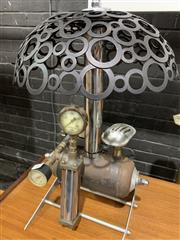 Sale 9002 - Lot 1062 - Steam Punk Table Lamp (H:51cm)