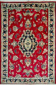 Sale 8307A - Lot 70 - Persian Kashan 100cm x 145cm RRP $600